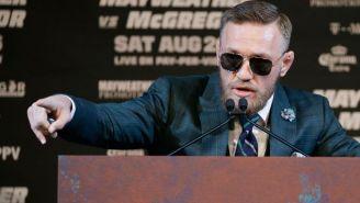 McGregor habla en conferencia de prensa desde Las Vegas
