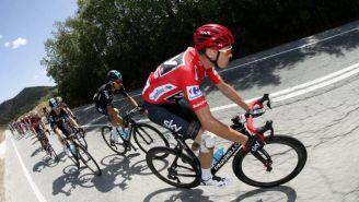 Ciclistas, durante La Vuelta a España