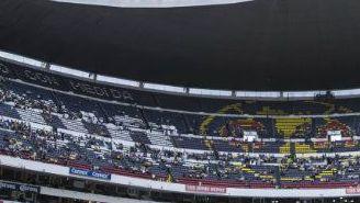 Así recibe el Estadio Azteca el duelo entre América contra Tigres