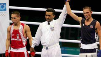 Raúl Castañeda (izq) en los Juegos Olímpicos de Atenas 2004