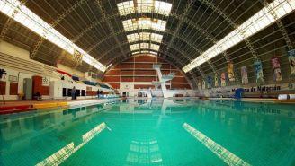 Instalaciones de la alberca olímpica del CDOM