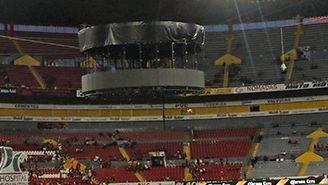 Así luce la pantalla del Estadio Jalisco