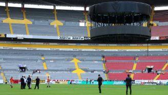 El Jalisco, previo a la cancelación del juego frente a Tigres