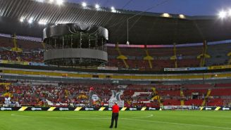 Estadio Jalisco tras suspensión de la Jornada 8