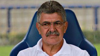Ricardo Ferretti, durante un encuentro de Tigres