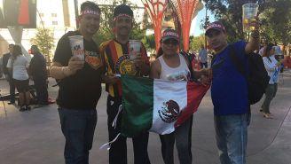 Mexicanos disfrutan de Las Vegas previo a Canelo-GGG