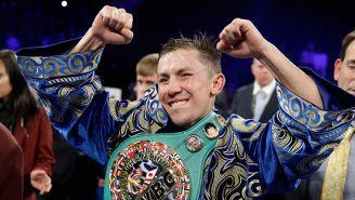 Gennady Golovkin después de la pelea con Canelo