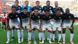 Once de Lobos BUAP para el juego contra Veracruz del A2017