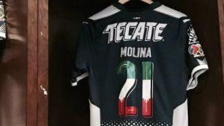 Esta es la playera que utilizará Monterrey en el duelo frente a Santos