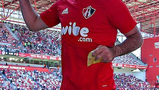 Rafa Márquez previo a un partido del Atlas