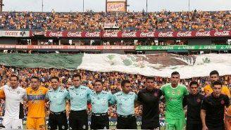 Tigres y Chivas se unen para enviar fuerza a México