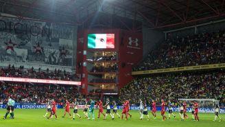 Así entraron Toluca y América al estadio choricero