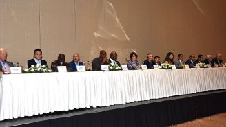Inauguración de la 55 convención del CMB