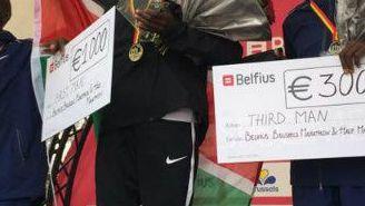 Ganadores del maratón de Bruselas