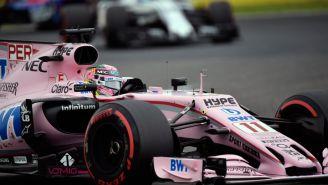 Checo Pérez durante la Q3 previo al GP de Japón