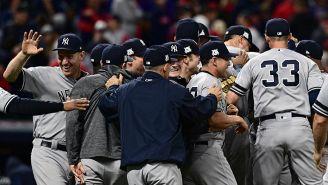 Yankees celebra el triunfo sobre Cleveland