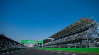 Recta principal del Autódromo Hermanos Rodríguez