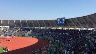 Así luce el Universitario BUAP en el juego entre los Lobos y Cruz Azul