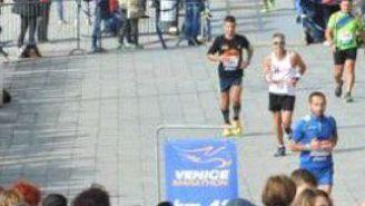 Participantes del maratón de Venecia 2017
