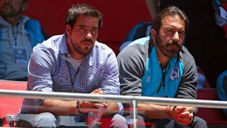 Arturo Villanueva y Joaquin Beltran ven el juego entre Toluca y Gallos del A2017