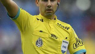 César Arturo Ramos, durante el juego Pumas-Cruz Azul
