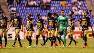 Pumas lamenta derrota frente a Puebla en la J15