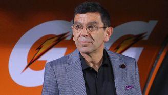 David Patiño previo a un partido de Pumas