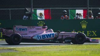 Sergio Pérez, en el segundo día del Gran Premio de México