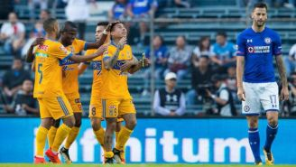 Édgar Méndez, en lamento tras un gol de Tigres