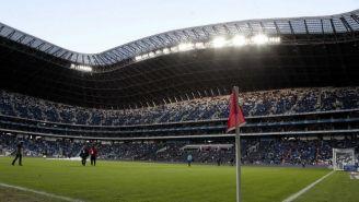 Tribuna del Estadio BBVA Bancomer, previo al Rayados vs América
