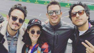 Ximena Sariñana asistió al GP de México