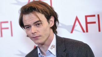 Charlie Heaton, durante los premios AFI
