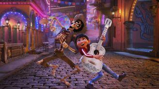 Imagen lanzada por Disney muestra una escena de la película 'Coco'