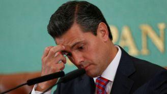 Enrique Peña Nieto, durante un evento público