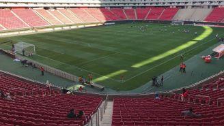Estadio Chivas, casi vacío para el Clásico Nacional en la Liga MX Femenil
