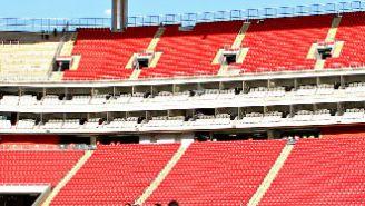 Imagen del momento previo al partido entre Chivas y América