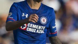 Martín Rodríguez, en un juego de Cruz Azul en el Apertura 2017