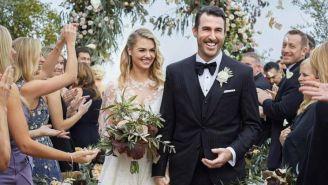 Justin Verlander y Kate Upton se casan en Italia