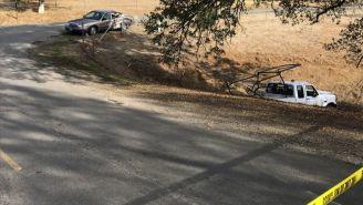 Así fue encontrado el vehículo que utilizó el asesino en California