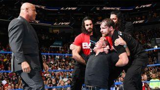 Kurt Angle enfrenta a Shane McMahon
