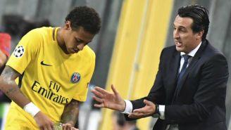 Emery da indicaciones a Neymar