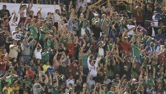 Afición de México en duelo contra Trinidad y Tobago