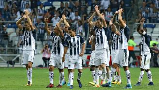 Monterrey festeja liderato del A2017 tras derrotar a Tigres
