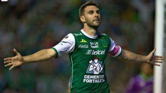 Mauro Boselli en festejo de su gol frente a Veracruz