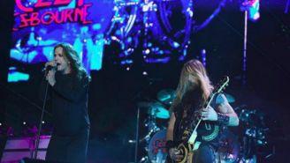 Ozzy Osbourne, durante un concierto