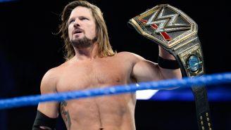 AJ Styles sostiene el título de WWE