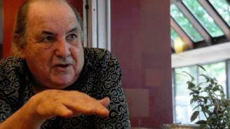 Luis Garisto durante una entrevista en Uruguay