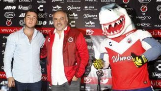 Guillermo Vázquez es presentado como DT de Veracruz