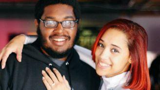 WaDi y su prometida Cinnamon presumen anillo de compromiso