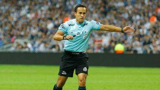 Jorge Isaac Rojas durante el juego entre Morelia y Monterrey